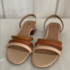 Madewell Addie Slingback Sandal in Leather L1168